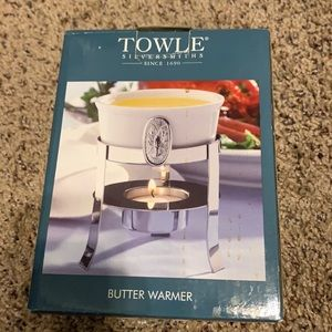 Towle Butter Warmer NEW IN BOX